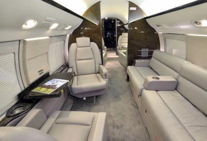 Продажа частного самолета бизнес-класса Gulfstream V в Киеве