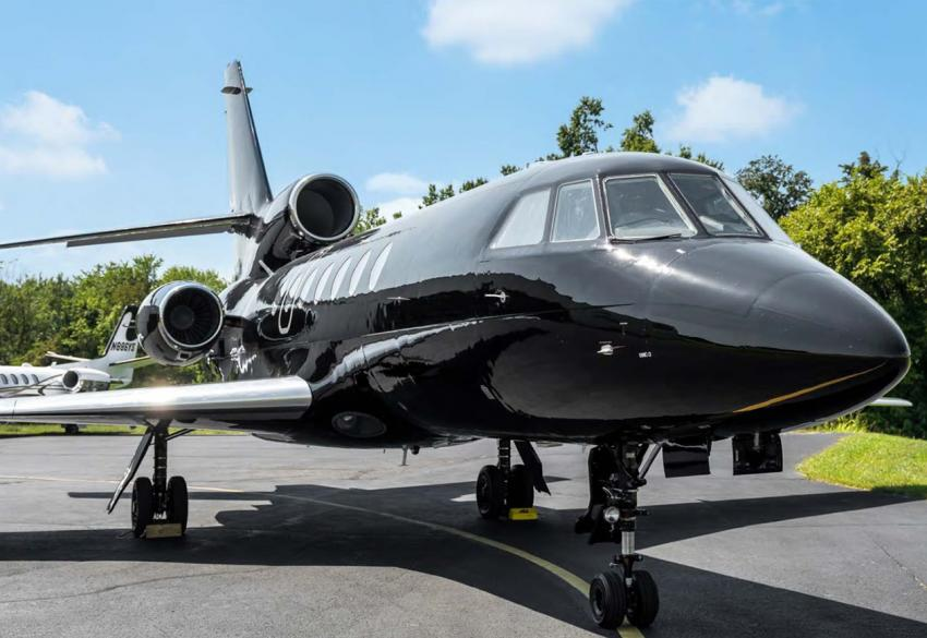 Продажа дальнемагистрального бизнес-джета Dassault Falcon 50 '1982