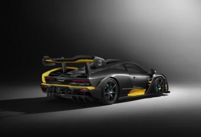 McLaren Senna Carbon — красивый, карбоновый и очень быстрый!