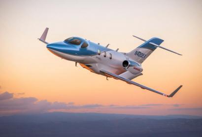 HondaJet Elite — идеальный реактивный самолет для деловых полетов