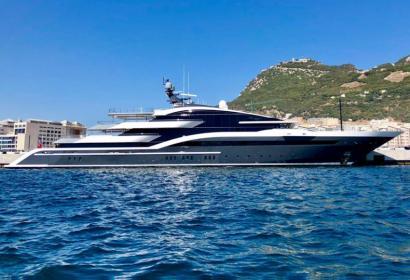 Новая роскошная 90-метровая яхта от голландской верфи Oceanco