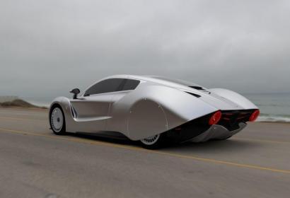 Новый футуристический гиперкар Hispano Suiza Carmen