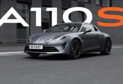 Новое спортивное купе A110S возрожденной марки Alpine