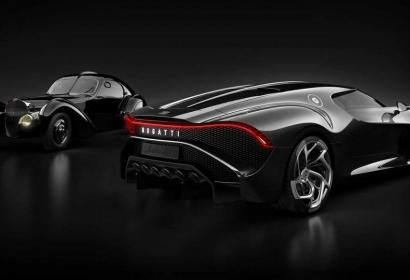 Bugatti создала самый дорогой гиперкар La Voiture Noire за $12,5 млн.
