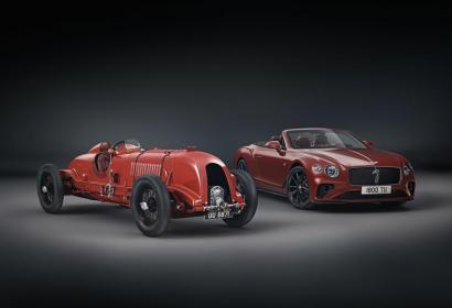 Спецверсия кабриолета Bentley к 100-летию английской марки