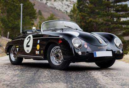Редкий Porsche Speedster 1957 года выставлен на аукционе