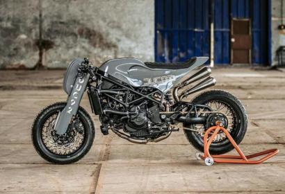 Реинкарнация монстра Ducati S4R в новом радикальном образе