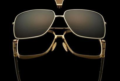 Эксклюзивные модульные очки из титана и рога буйвола за $4500