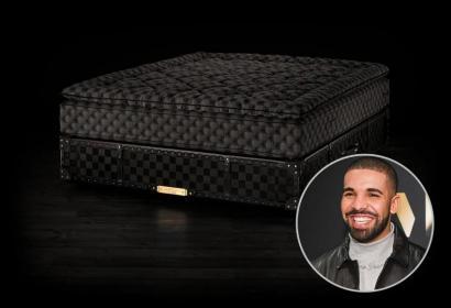 В Швеции создали эксклюзивную кровать за $400 000 для репера Дрейка