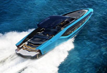 Lamborghini и верфь Tecnomar создали «суперлодку» с двумя V12 мощностью 4000 л.с.