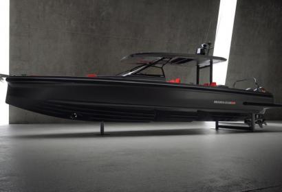 Скоростная лодка Brabus Shadow 900 Black Ops