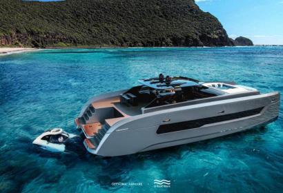Катамаран-внедорожник Aquanaut за $3 млн c батискафом Nemo на борту