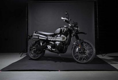 Triumph выпустила лимитированную серию мотоцикла Джеймса Бонда