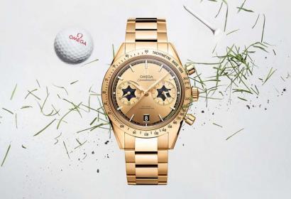 Omega выпустила часы в честь чемпиона гольфиста Рори Макилроя