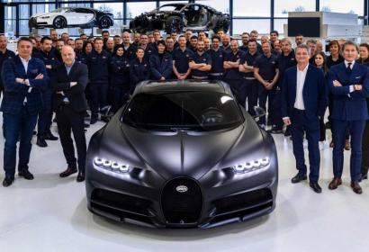 Черная магия: Bugatti представила 250-й Chiron в эксклюзивной версии Noire Sportive