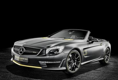 Роскошные родстеры от Mercedes