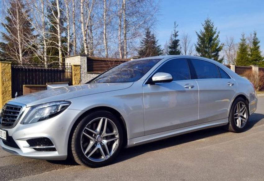 Аренда Mercedes-Benz S-class W222 S500L в Киеве