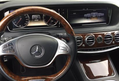 Аренда Mercedes-Benz S-class 500 4 Matic в Киеве