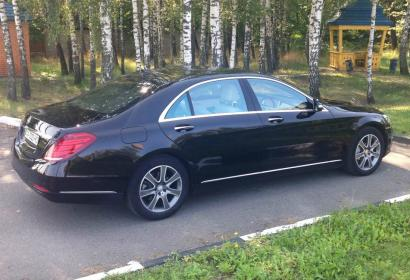 Аренда Mercedes-Benz S-class w222 S500 Long 4matic в Киеве
