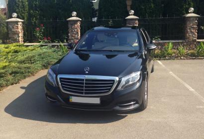 Аренда Mercedes-Benz S-class w222 S500 Long 4matic в Киеве