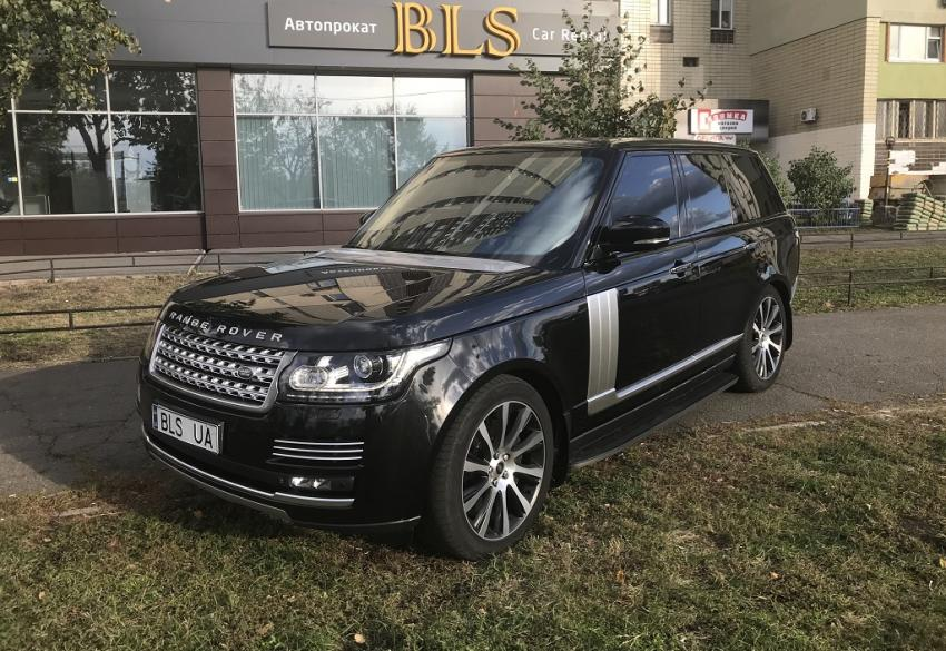 Аренда Land Rover Rang Rover Vogue Autobiography в Киеве