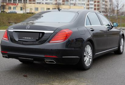 Аренда Mercedes-Benz S-class w222 S500 Long в Киеве