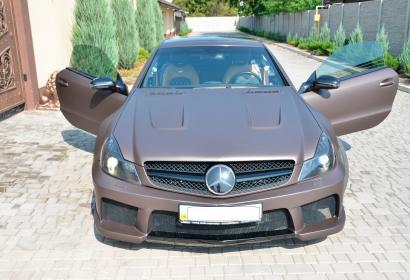 Продажа Mercedes-Benz SL-class 55 AMG Black Series Platinum edition в Запорожье