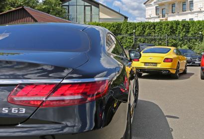 Продажа Mercedes-Benz S-class Coupe 63 AMG в Киеве