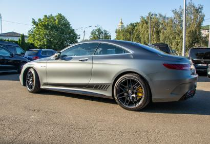 Продажа Mercedes-AMG S63 Coupe 4Matic+ Yellow Night Edition в Киеве