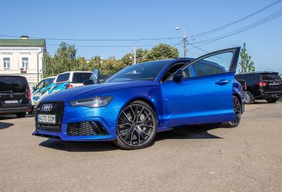 Продажа заряженной Audi RS6 4.0 TFSI Quattro в Киеве