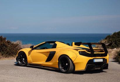 Продажа суперкара McLaren 650S Spider Liberty Walk в Киеве
