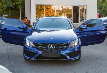 Продажа Mercedes-Benz C-class Coupe AMG в Киеве