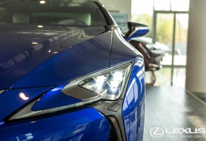 Продажа спортивного купе Lexus LC 500 Structural Blue в Днепре