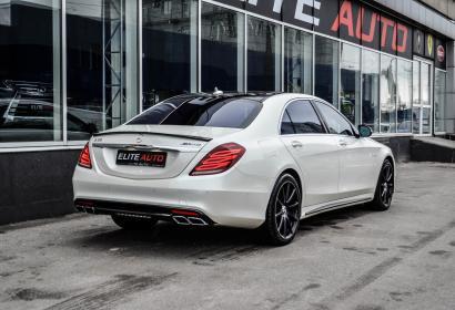 Продажа заряженной модификации Mercedes S-class 63 AMG 4Matic Lang '2014 в Киеве