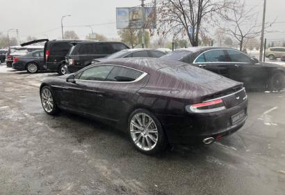 Аренда Aston Martin Rapide V12 без водителя в Киеве