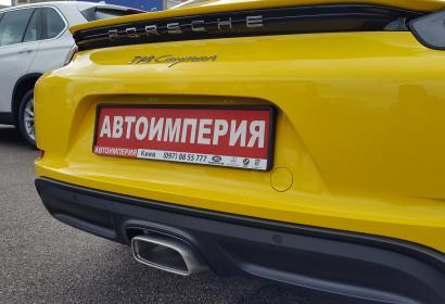 Продажа нового Porsche Cayman 718 '2018 на гарантии в Киеве