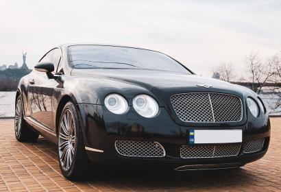 Аренда Bentley Continental GT без водителя в Киеве