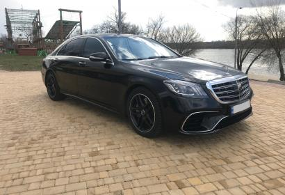 Аренда Mercedes S550 AMG 4Matic w222 без водителя в Киеве