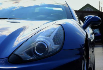 Прокат кабриолета Ferrari California с водителем в Киеве