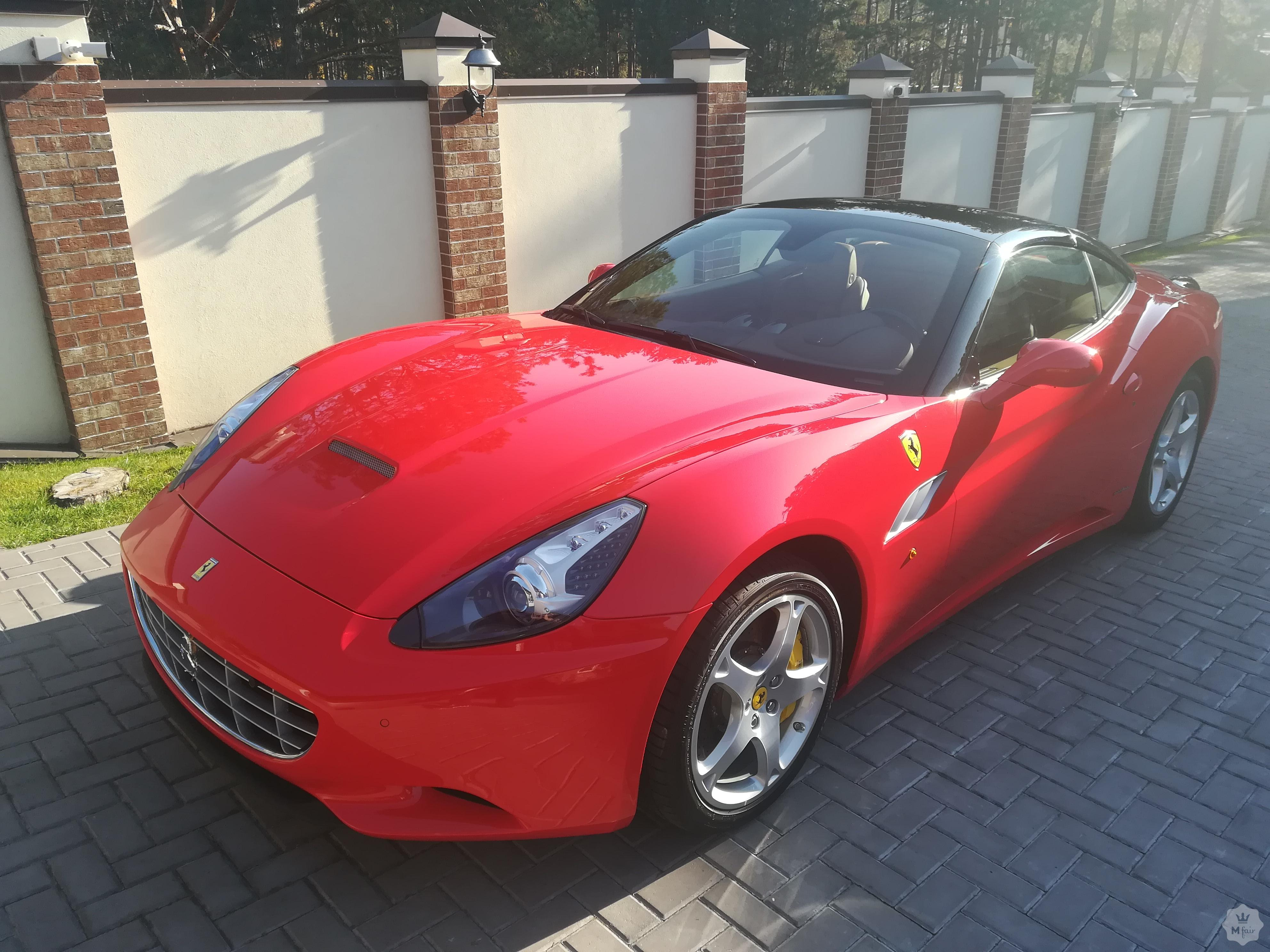 Продажа родстера Ferrari California 4.3 V8 2013 в Киеве на ...