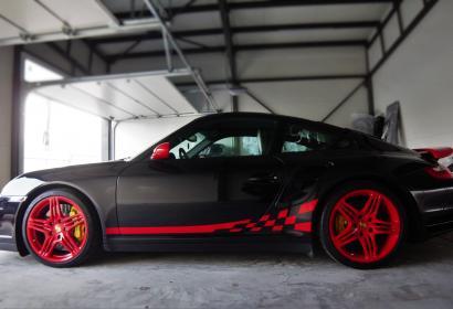 Аренда суперкара Porsche 911 Turbo 3.6 AWD '2007 в Киеве