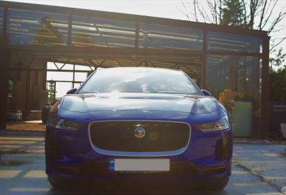 Прокат электрокара Jaguar I-Pace с водителем в Киеве