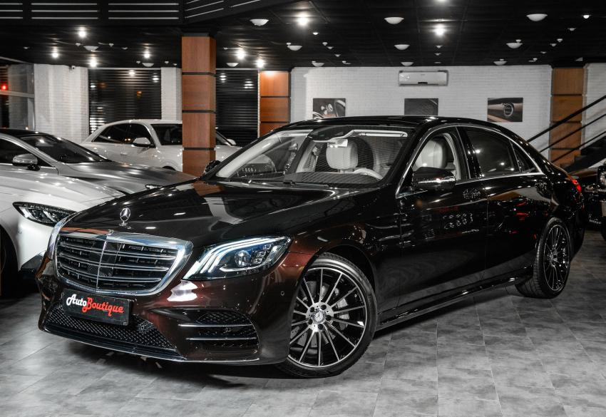 Продажа седана Mercedes-Benz S350 Designo 4Matic '2018 в Одессе