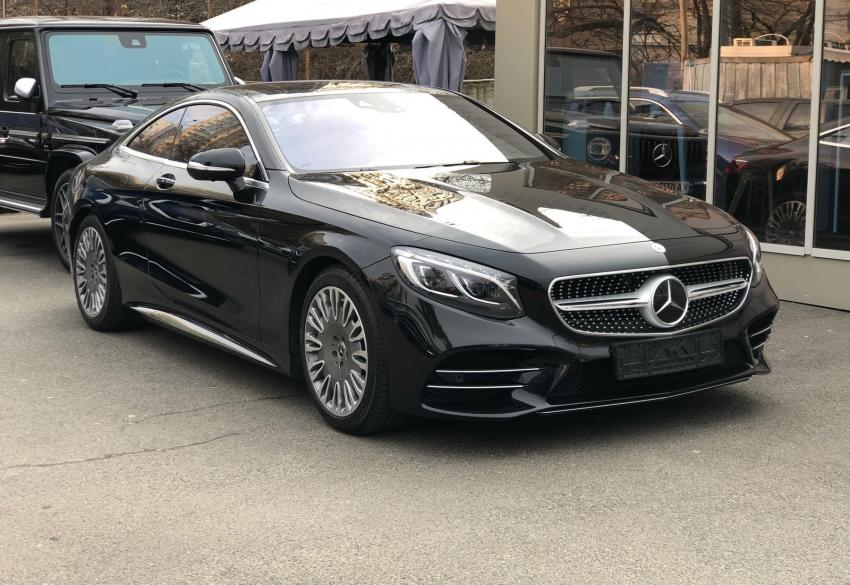 Продажа купе Mercedes S-класс Coupe 450 4matic AMG '2018 в Киеве