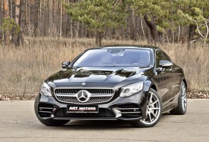 Продажа Mercedes-Benz S-class Coupe 560 AMG 4matic '2018 в Киеве