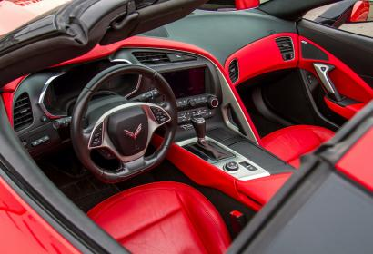 Аренда кабриолета Chevrolet Corvette 6.2l в Киеве