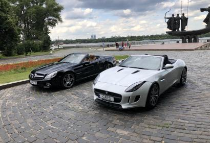 Аренда спортивного кабриолета Jaguar F-Type в Киеве