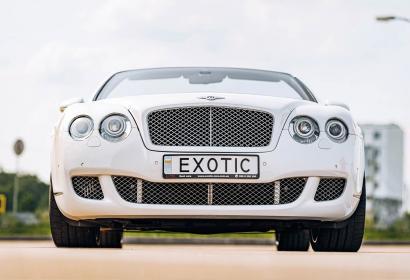 Прокат кабриолета Bentley Continental Convertible в Киеве