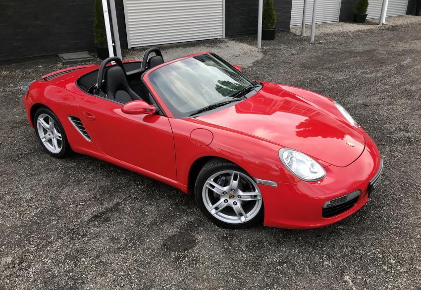 Продажа кабриолета Porsche Boxster '2005 в Киеве