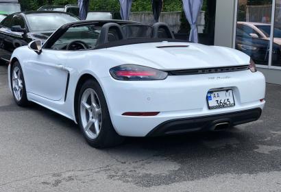 Продажа кабриолета Porsche 718 Boxster '2016 в Киеве